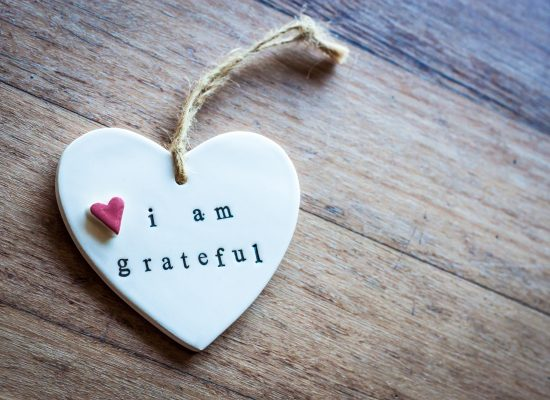 Gratitude: Little Heart saying 'I am grateful'