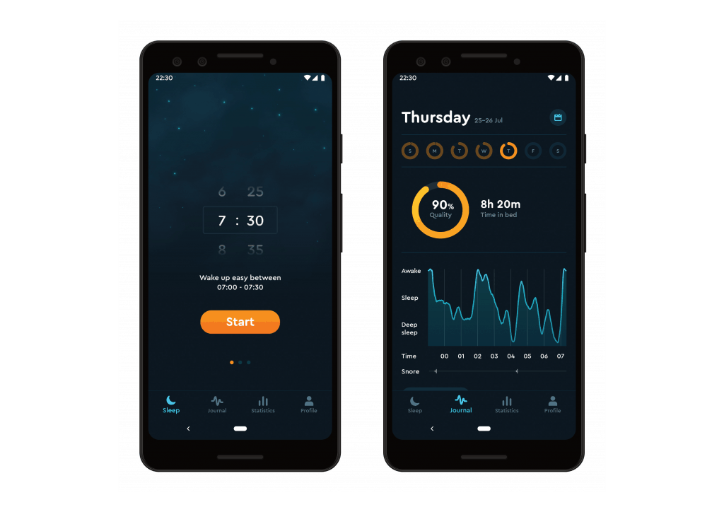 Sleep Cycle App Screenshots