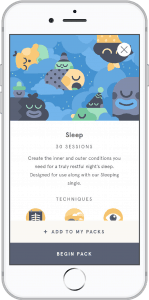 Headspace Sleep Screenshot