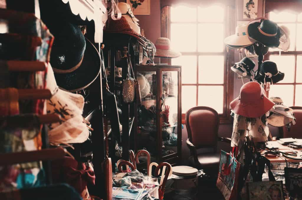 Cluttered room full with clothes and accessories - How to Let go - Life Lessons I wish I knew earlier.