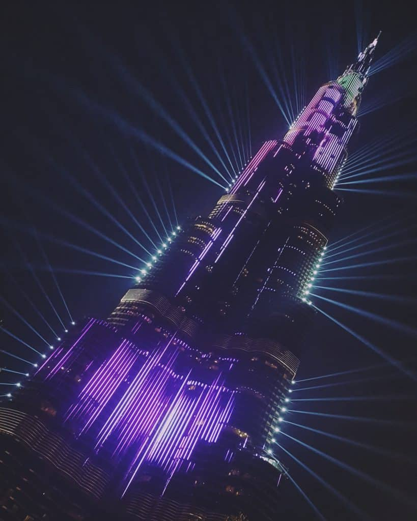 Burj Khalifa Light Show - Things to do in Dubai