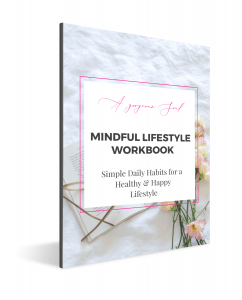 AGS Mindful Lifestyle Workbook Screenshot